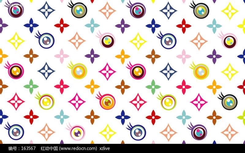 古奇标志壁纸_lv标志 经典花纹背景图片(编号:163567)