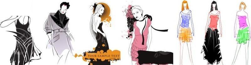 服装设计模特