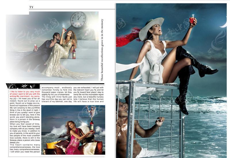 2010时尚杂志版式设计
