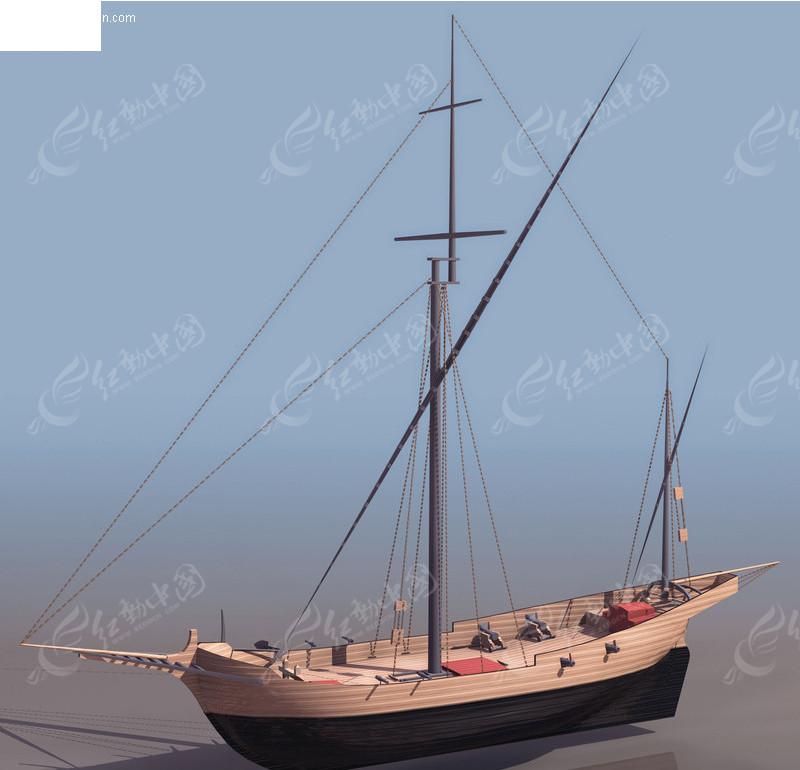 帆船模型展示_第2页_设计图分享