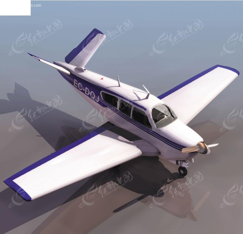 三维简易飞机模型 3d飞机模型素材