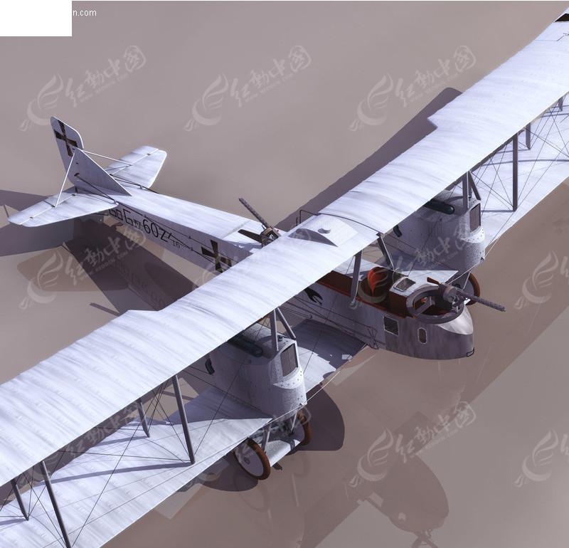 飞机3dmax模型_交通工具