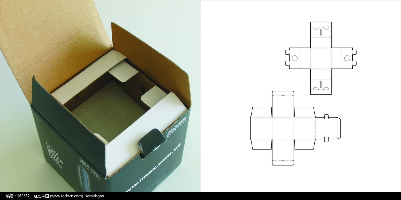 包装 结构 示意图063