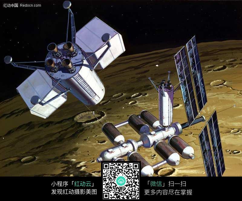 星际空间站图片