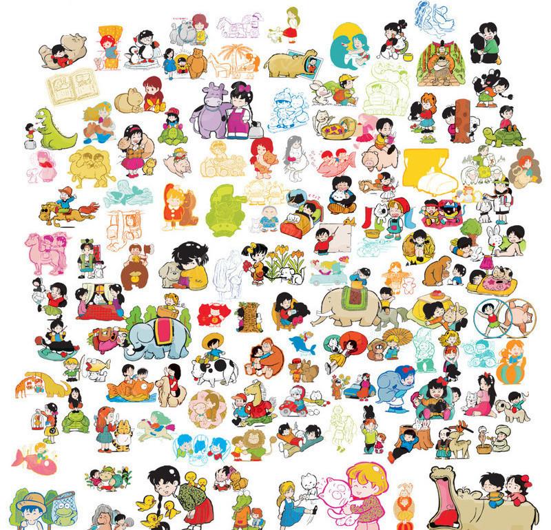 卡通儿童图片大全_卡通人物