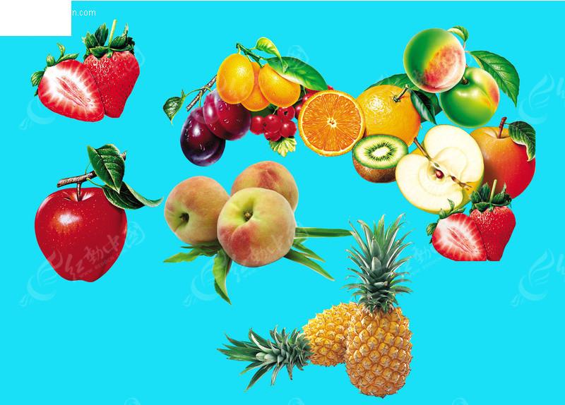 水果画画图片大全大图_水果图片大全大图苹果
