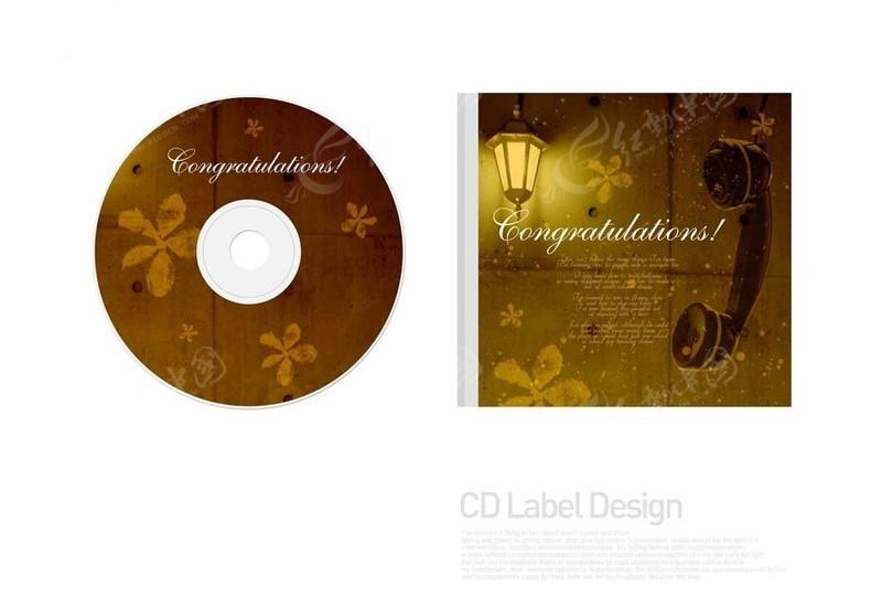 创意光盘包装设计图片