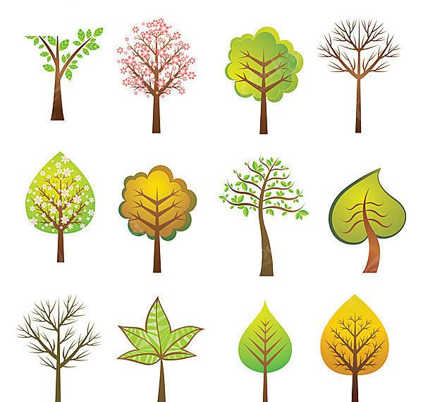 12款植物变形图图片