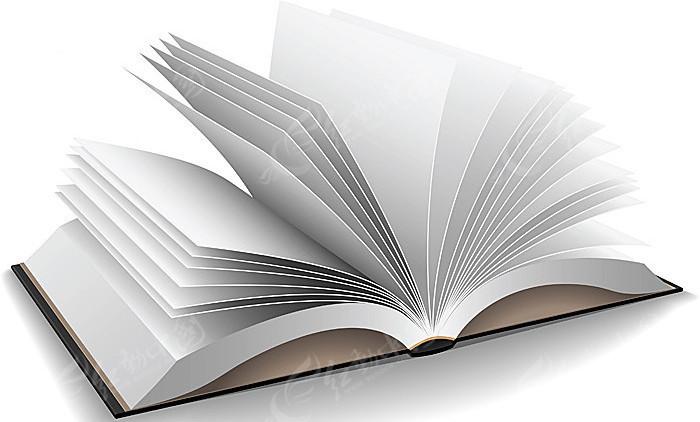 翻开 打开 翻页 书本