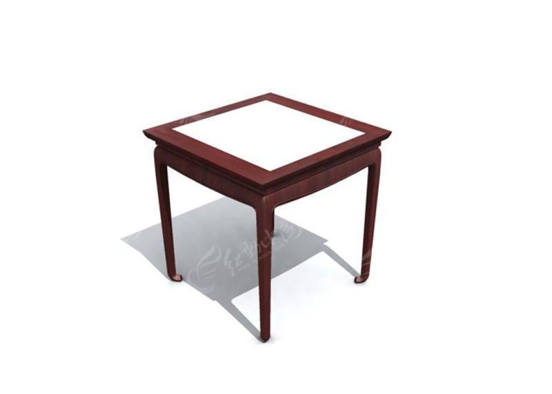 正方形桌子3d模型