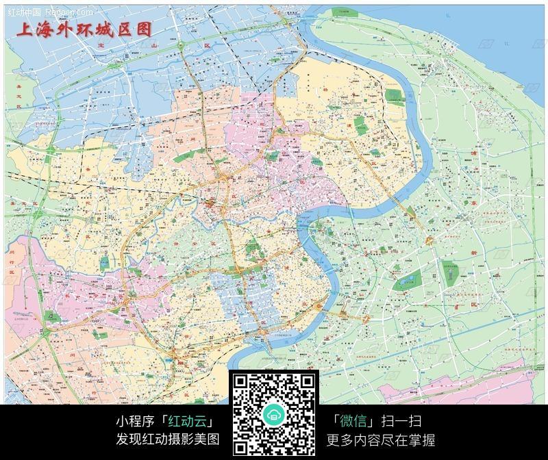 上海地图图片 上海市地图 上海市地图全图 上海市区地图  生活百科 摄
