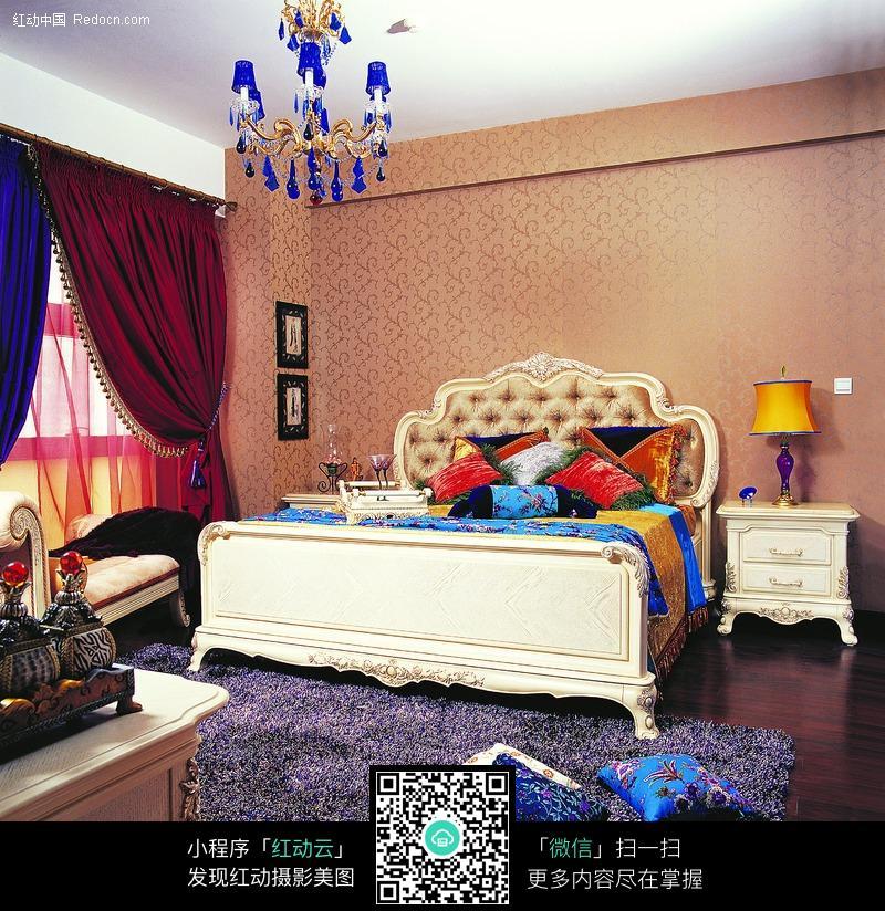 欧式风格卧室图片_室内设计图片