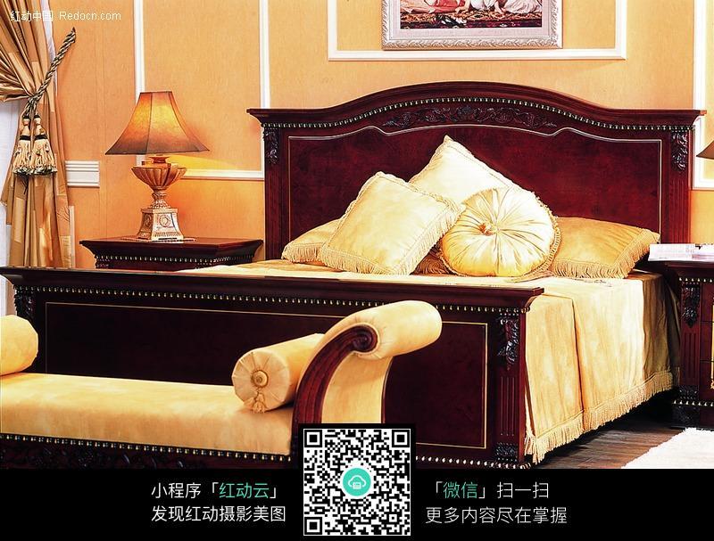 欧式风格睡床
