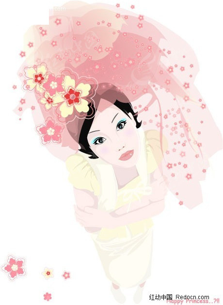 免费素材 矢量素材 矢量人物 女性女人 漂亮美女仰视  请您分享: 红动