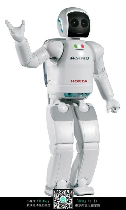 日本本田机器人asimo阿西莫图片