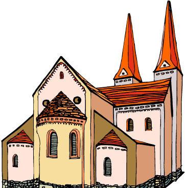 欧式风格建筑素材矢量图_建筑景观