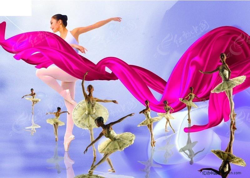 芭蕾舞蹈人物素材