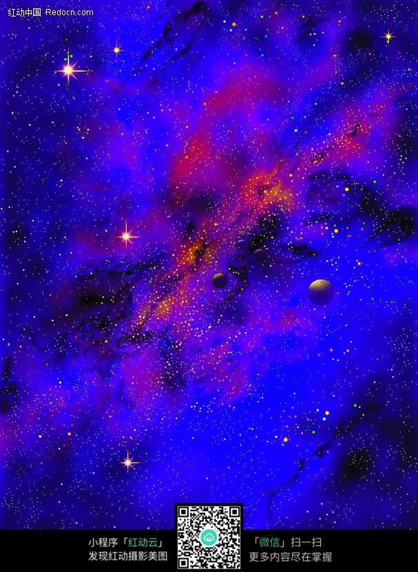 外太空的星球图片图片