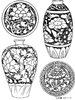 古式瓷器花纹图片
