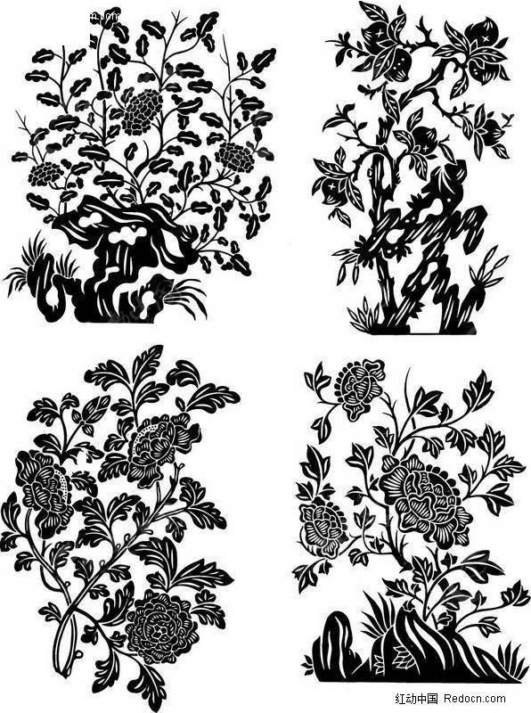 免费素材 矢量素材 艺术文化 传统图案 花卉装饰变形  请您分享: 红动图片