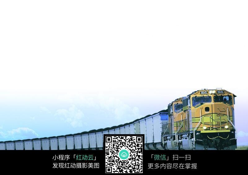 运煤小车往返自动循环电路图