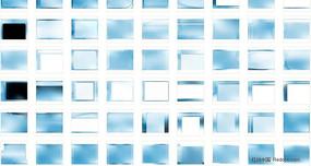 天空蓝PPT背景图片