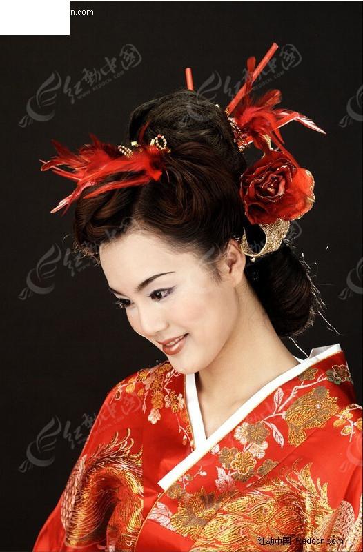 日本和服美女头像