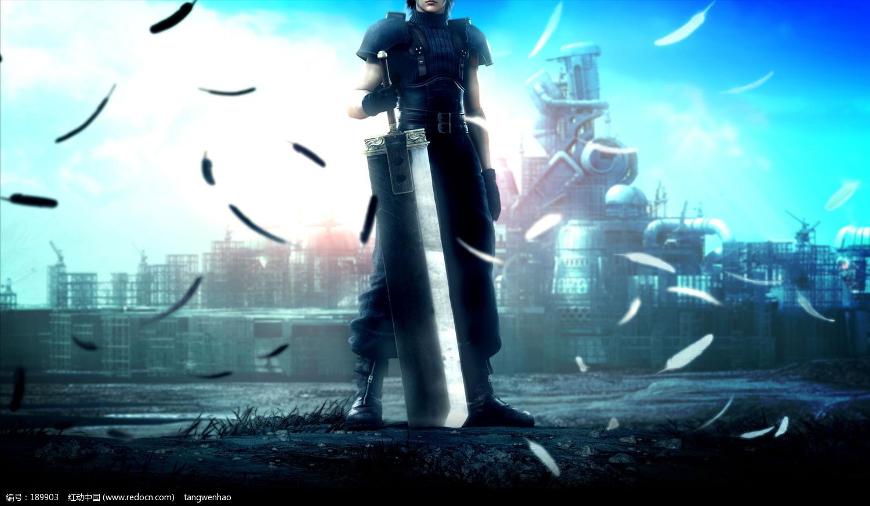 最终幻想7 危机核心1400x1050 4 3 点击下载原