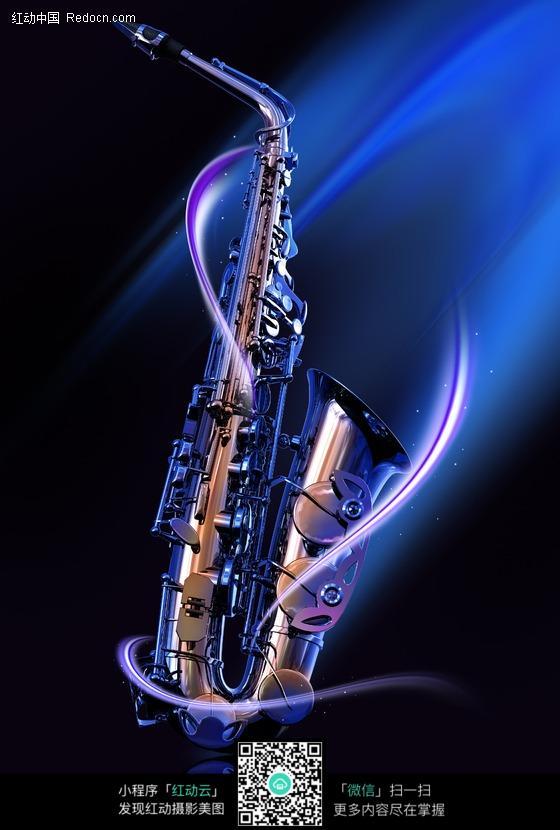 音乐西洋乐器交响乐写真海报定做制做kt板挂轴演奏高清图萨克斯