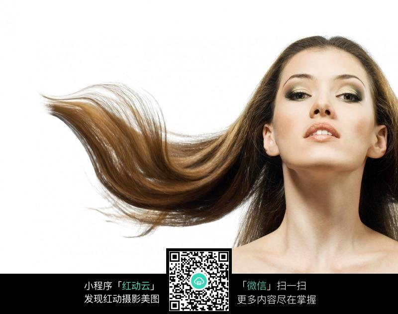 欧美发型美女图片