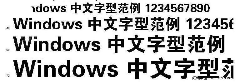 请问有谁能看出这是不是方正字体?或者是微软雅黑呢?