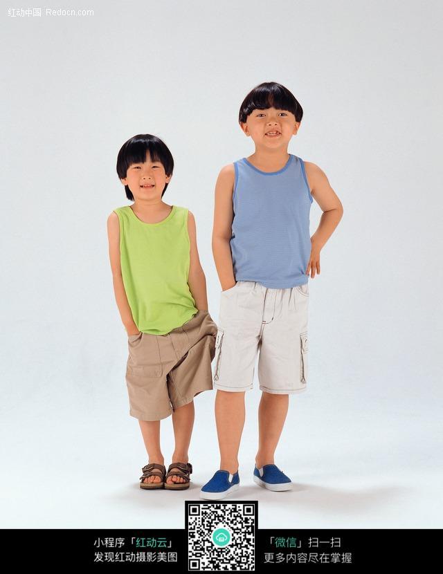 弟弟与哥哥图片-人物图片素材|图片库|图库下载