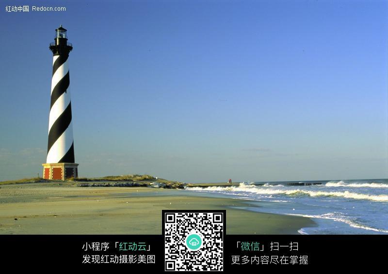 海边的灯塔图片