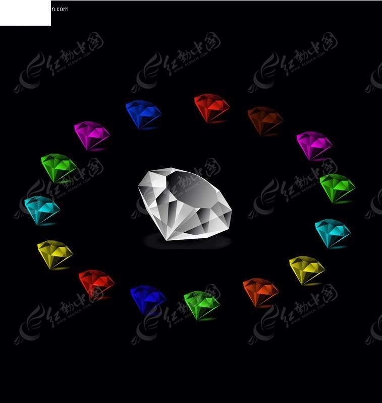 ps钻石素材