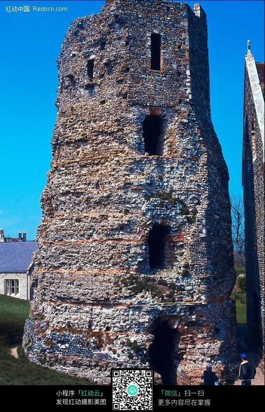 碉堡类建筑简笔画