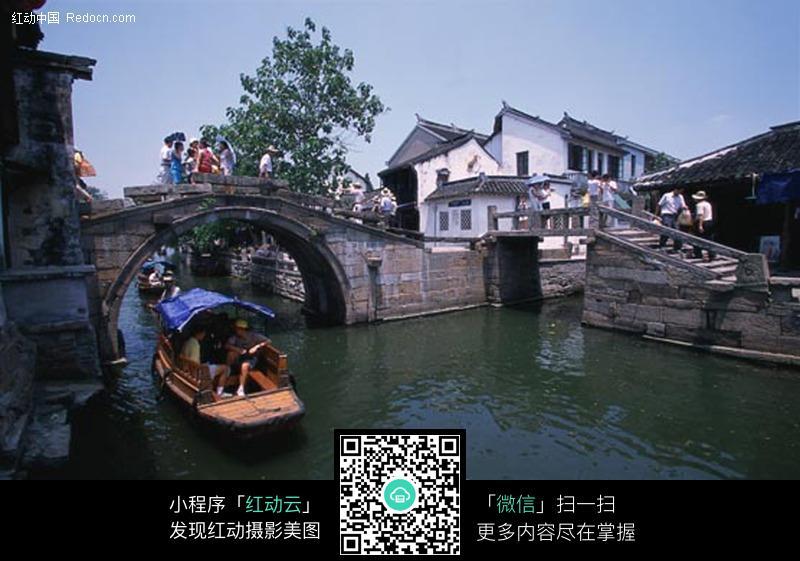 江南江南-古镇 自然景观 山水风景 摄影图库 350 JPG高清图片