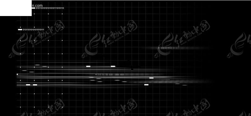 黑白网格背景素材