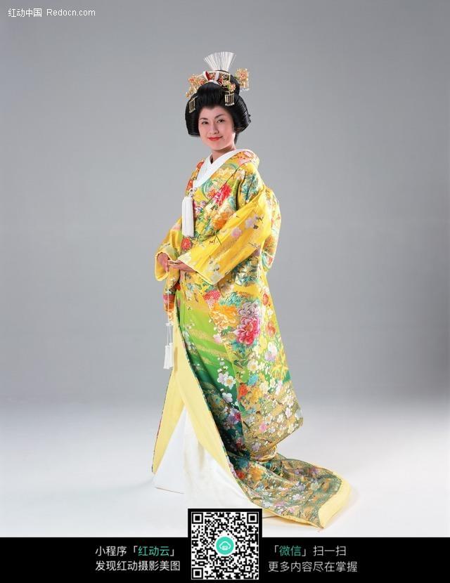 穿着和服的日本女人图片编号:208557 女性女