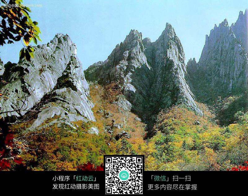 免费素材 图片素材 自然风光 自然风景 陡峭的山峰