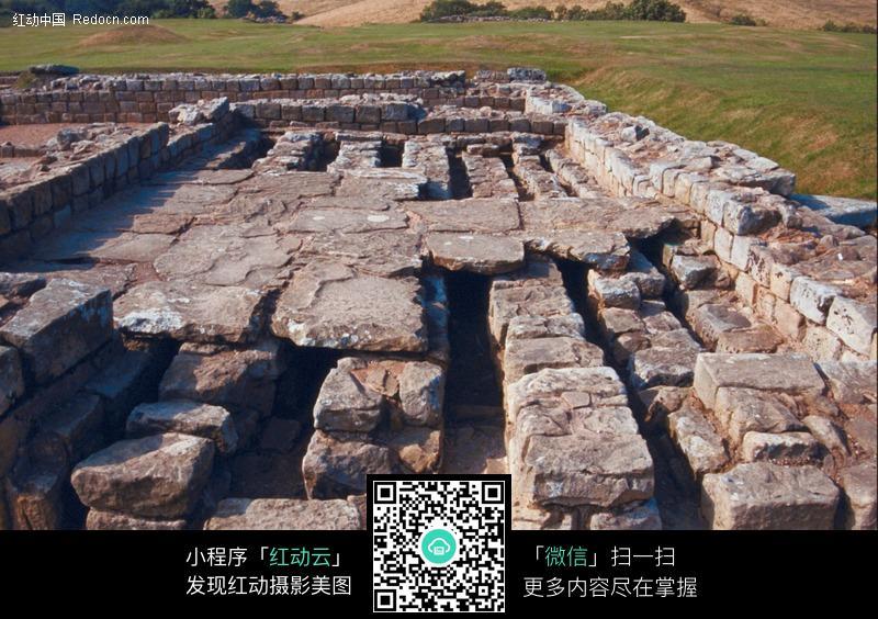 欧洲古代建筑遗址图片