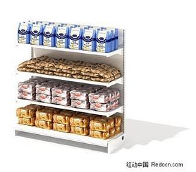 3D商场货柜模型