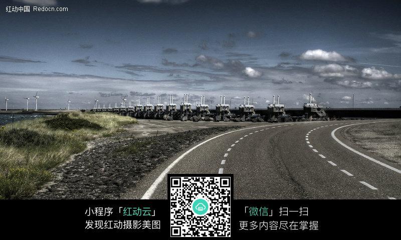 免费素材 图片素材 环境居住 道路摄影 弯曲宽敞的大路  请您分享: 红