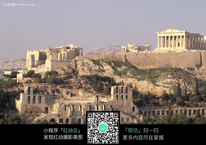 雅典卫城古建筑
