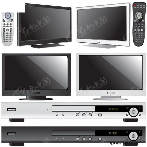 电视机与dvd机图片