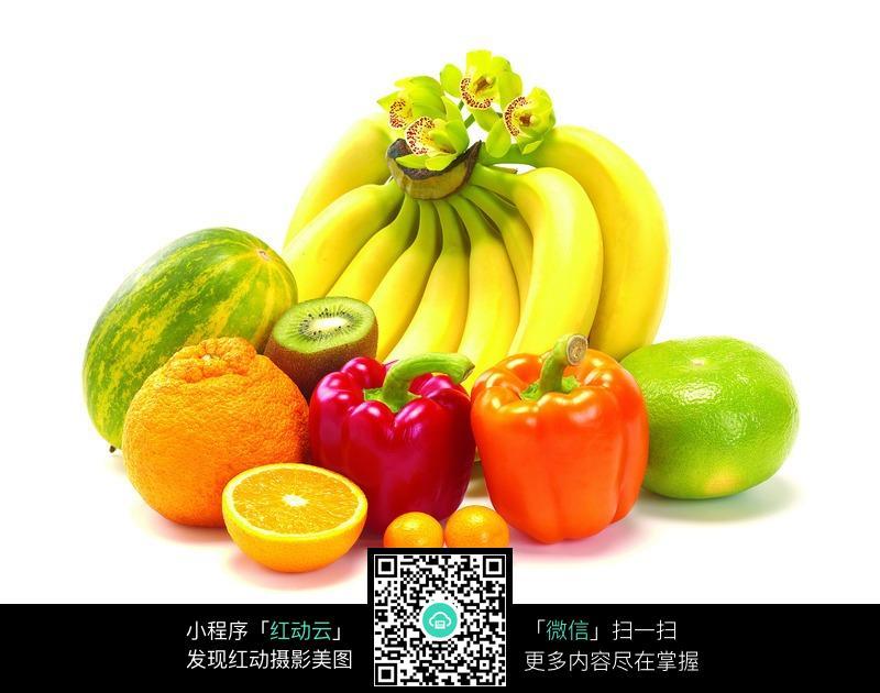 一堆水果蔬菜图片