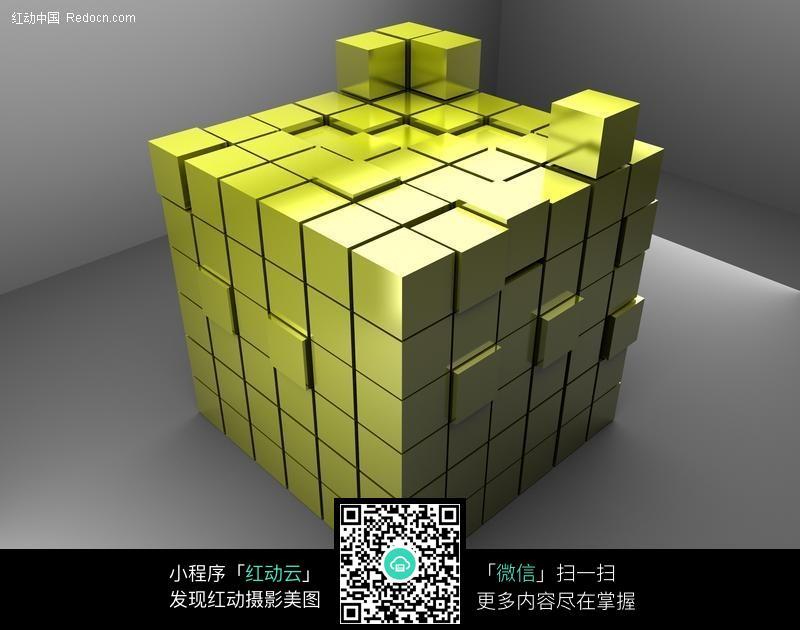 3d立体魔方图片