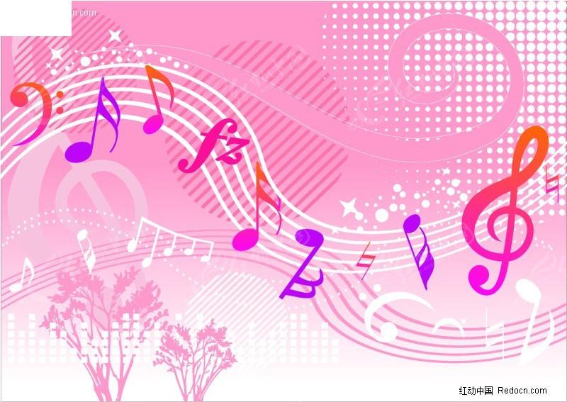 音乐符号矢量图 其他模板图片