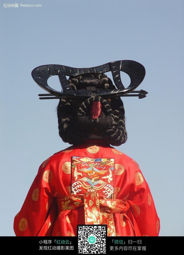 韩国古代美女背景图片