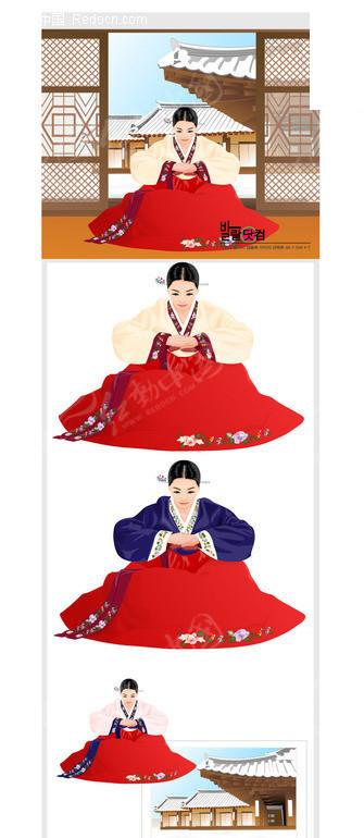韩国古代美女