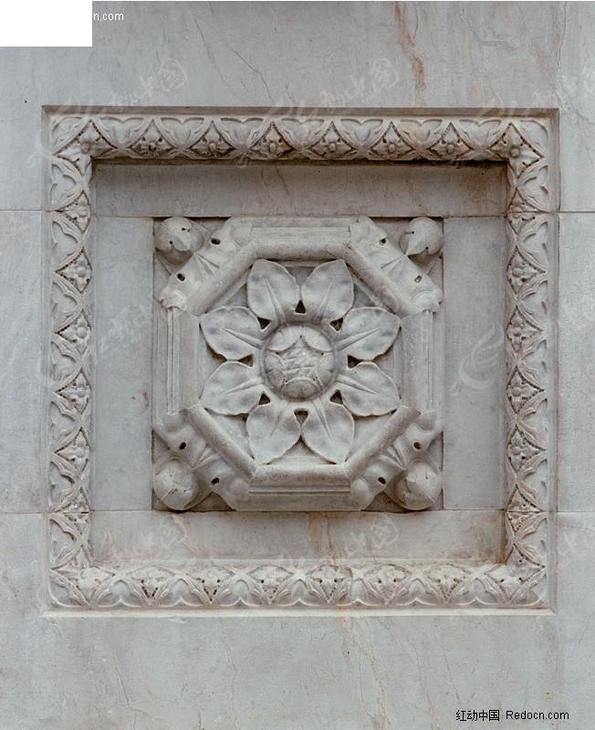 欧式建筑花纹柱子墙面花纹